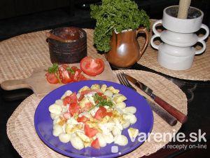 Gnocchi so syrovou omáčkou a kuracím mäsom