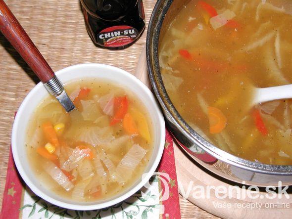 Ostrá čínska polievka