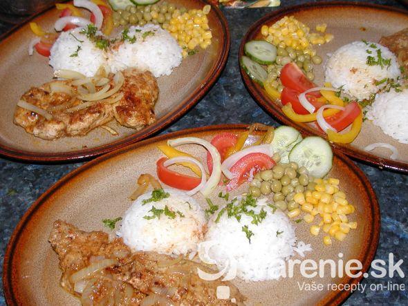 Bravčový gyros s ryžou