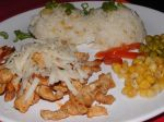 Kuracie rezance s cibulkovou ryžou