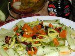 Pikantný uhorkový šalát
