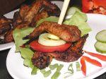 Pečené kuracie krídla s cesnakom