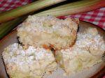 Krehký rebarborový koláč