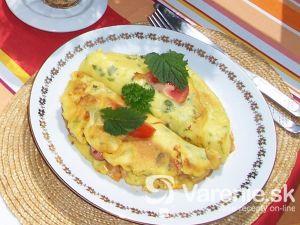 Plnené omelety