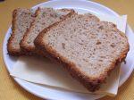 Škvarkový chlieb z domácej pekárne