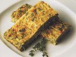 Syrový koláč so zeleninou