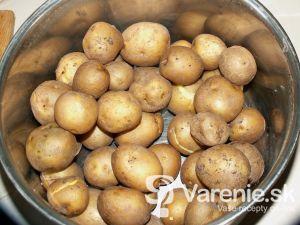 Pikantné pečené zemiaky