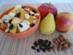 Ovocný šalát s hrozienkami